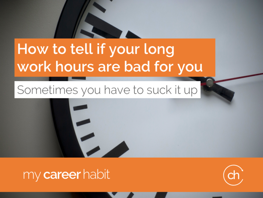 Long work hours bad for you