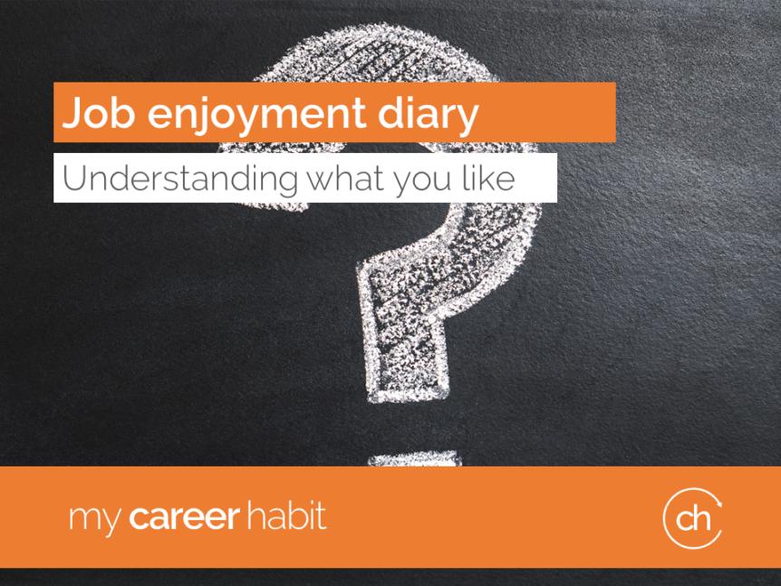 Job enjoyment diary