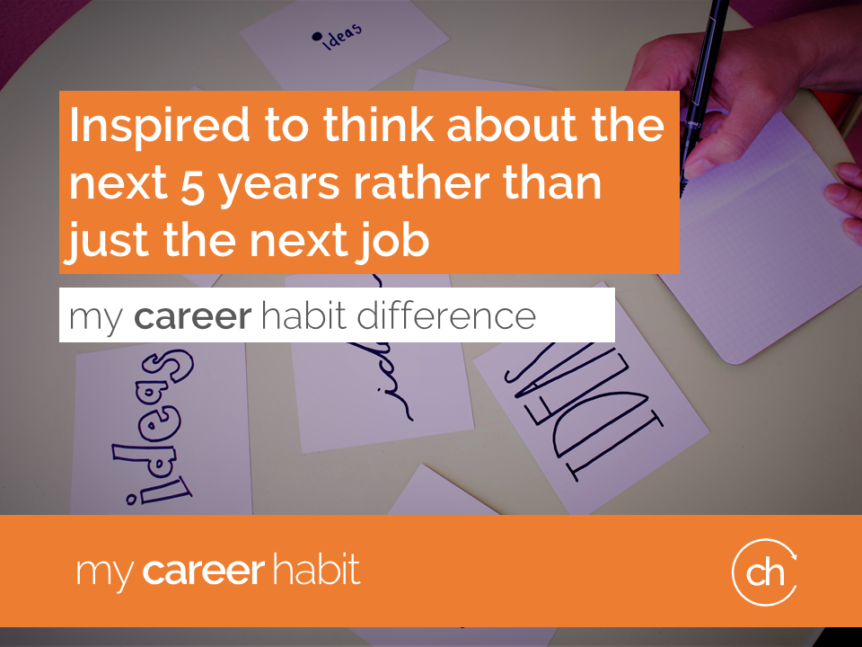 my career habit difference