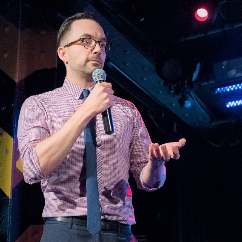 Steve Kimmens Keynote Speaker and Facilitator in action Ignite Sydney 2018