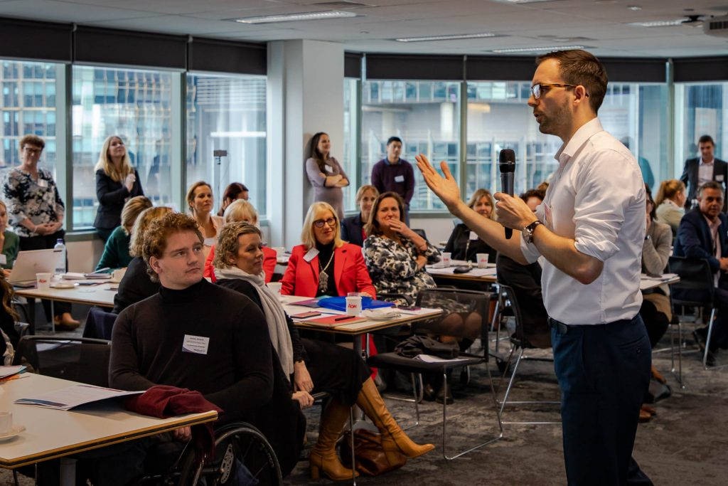 WayAhead Workplaces Annual Forum Steve Kimmens Career Wellbeing